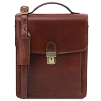 Tuscany Leather TL141424 Leather Crossbody Bag