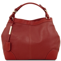 Tuscany Leather TL141516 Ambrosia Soft Leather Bag - Red