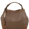 Tuscany Leather TL141516 Ambrosia Soft Leather Bag - Taupe