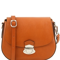 Tuscany Leather TL141517 Neoclassic Shoulder Bag - Honey