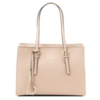 Tuscany Leather TL141518 Saffiano Leather Handbag  - Nude