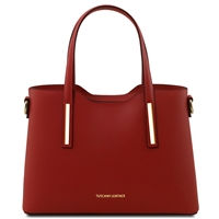 Tuscany Leather TL141521 Olimpia Handbag - Small - Red
