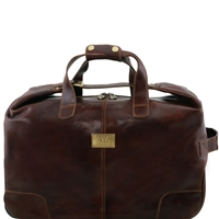Tuscany Leather TL141537 Barbados Leather Trolley Bag