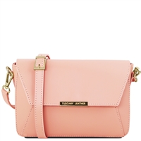 Tuscany Leather TL141584 Ruga Leather Bag Nude
