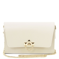 TL141653 Ruga Leather Bag - Ivory