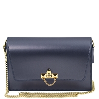 TL141654 Ruga Leather Bag - Dark Blue