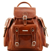 Tuscany Leather TL9052 Pechino Leather Backpack