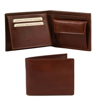 Tuscany Leather TL140763 Leather Wallet for Men - Brown