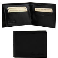 Tuscany Leather TL140760 Leather Wallet for Men - Black