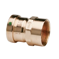 Copper ProPress Female Adapter