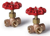 Three-Way Brass Valve