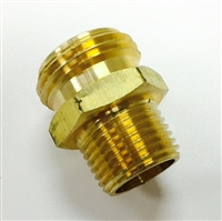 "1/2"" x Garden Hose Adapter"