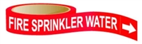 Fire Sprinkler Water Sticker Roll