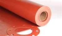 Roll of Red Rubber Gasket Material