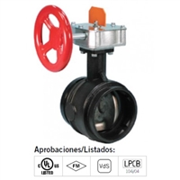 Victaulic Butterfly Valve (open)
