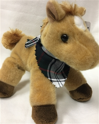 Stuffed Charger Horse