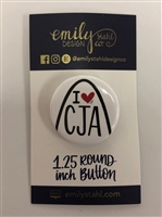 I ♥ CJA Arch Button