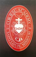CJA Crest Large Decal