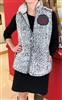 Sherpa Vest with Embroidered Cor Jesu Patch