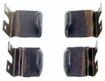 1967 - 1969 Firebird Roof Rail Blow Out Clips Set, 4 Pieces
