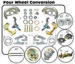 1967 - 1969 Firebird 4 Wheel Power Disc Brake Conversion Kit