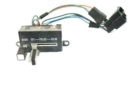 1979 windshield wiper switch, with pulse original gm used 1965 Corvette Wiper Switch Wiring  87 GM Wiper Switch Wiring 1970 C10 Wiper Motor Wiring Harness GM Ignition Switch Wiring Diagram