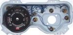 1969 Firebird Dash Instrument Cluster Assembly with Rally Gauges