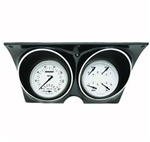 1967 - 1968 Dash Instrument Cluster Housing with White Gauges, Custom OE Style