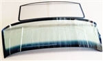 1967 - 1969 Flush Mount Front Windshield and Rear Back Glass Set, Soft Tint