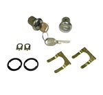1967 - 1982 Locks Set, Doors, Short Cylinder 7/32 Inch, GM Later Style Round Head Keys