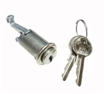 1967 - 1968 Glove Box Lock and Key Set with OE Style Keys