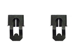 1967 - 1981 Firebird Door Lock Rod and Latch Mechanism Opening Rod Clips, Pair