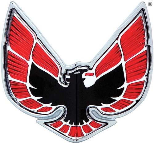 1970 1971 Firebird Front Bumper Nose Panel Bird Emblem