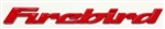 1993 - 2002 Firebird Door Letters, Red