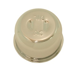 Valve Cover Chrome Oil Filter Breather Cap - OE Style