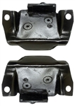 1967 - 1969 Engine Block Side Motor Mounts - Pair