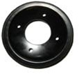1969-1970 Single Groove Ram Air Crank Pulley without A/C or P/S