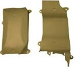 1969 - 1971 Intake Crossover Heat Shield Cover Set