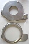 1967 - 1968 Pontiac Firebird Water Pump Divider Plates, Stainless Steel