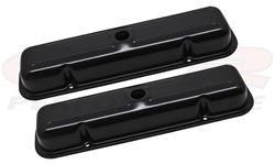 NEW BLACK EDP COATED Pontiac Firebird Trans Am Bandit Valve Cover Set now ON SALE!
