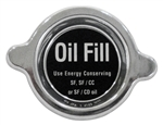 Chrome Engine Valve Cover Oil Fill Cap