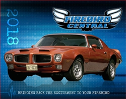 NEW 2017 Firebird Central Calendar