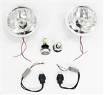 1970 - 1976 Headlight Assemblies Set, 7 Inch, G2 CREE LED Headlights Conversion HI LO Kit 2500LM