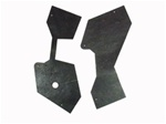 1967 - 1969 Front Nose Bumper Bracket Rubber Seal Kit