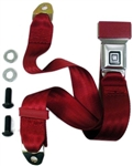 "Seat Belt OE Style with ""GM Mark of Excellence"" Stainless Steel Buckle - Choice of Color"