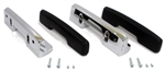 1967 Door Panel Arm Rests Kit, Standard Interior, Black