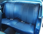 1969 Rear Seat Covers, Standard Interior, Fold-Down Option