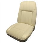 1968 Front Bucket Seat Covers - Deluxe Interior