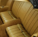 1977 Rear Seat Covers, Deluxe Interior - Vinyl