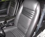 1978-1981 Front Bucket Seat Covers Deluxe Interior - Vinyl